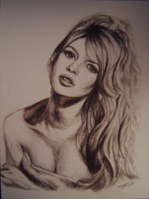 Brigitte Bardot par nanie